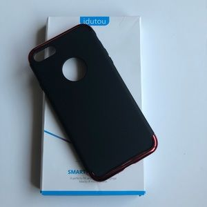 Other - iPhone 7 Full Case Black and Red